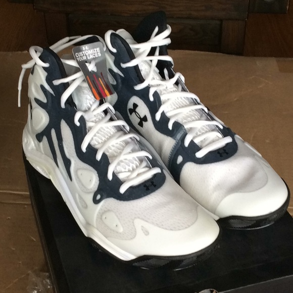 new style a7e15 66700 UA Micro G Anatomix Spawn 2 with laces NWT